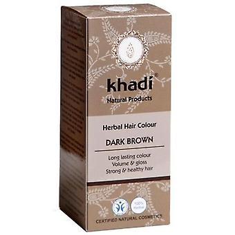 Khadi Herbal Dark Chestnut Ammonia Free Eco