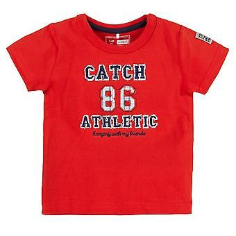 Name it Jongens Rode Newborn Tshirt Hero Name-It