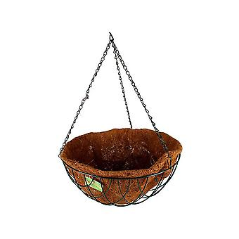 Hanging Basket W/ Liner & Chain