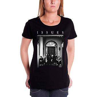 Issues T Shirt Door band Shot Logo Official Womens loose Fit new Black