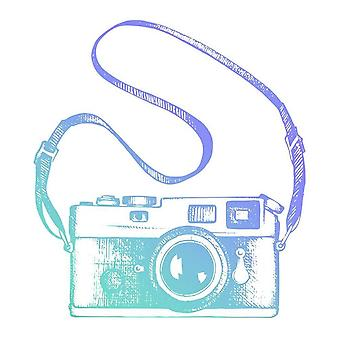 Couture Creations Men's Collection Vintage Camera Mini Stamp