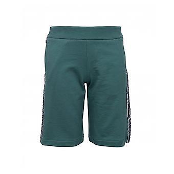 Ea7 Taped Logo Jersey Shorts