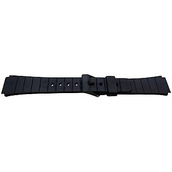 Watch strap made by w&cp to fit casio watch strap 16mm 167f4, aq80c, mq104, mq24, mq44, mq61w, mq74