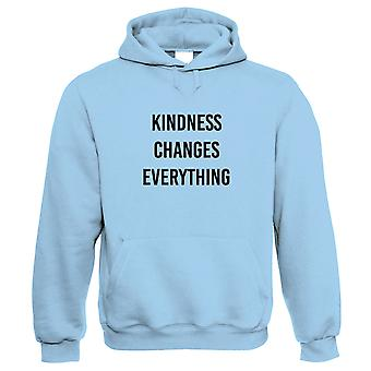 Kindness Changes Everything Hoodie - Wellbeing Mental Health Awareness