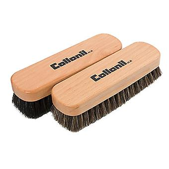 Collonil Beechwood Buffing and Polishing Horse Hair Brush for Shoes and Boots