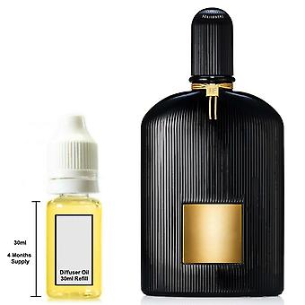 Tom Ford Black Orchid For Him Inspired Fragrance 30ml Refill Essential Diffuser Oil Burner Scent Diffuser