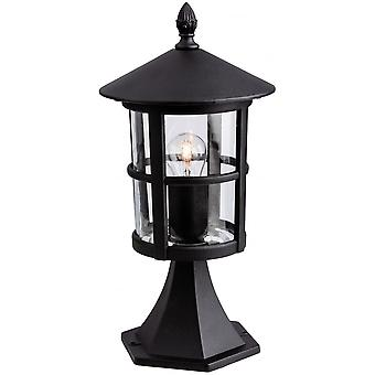 Firstlight Epoch Traditional Outdoor Black Pillar Top Lantern
