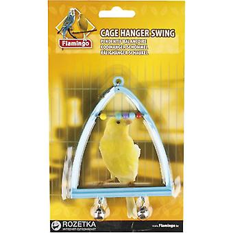 Flamingo Swing Cascabel Piramide (Birds , Bird Cage Accessories , Toys , Swings)