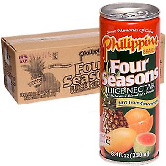 Philippine Four Seasons Juice Nectar-( 250 Ml X 24 Cans )