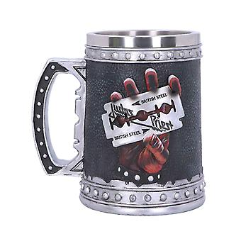 Judas Priest Tankard British Steel Band Logo new Official Black Boxed
