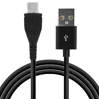 Usb to Micro Usb Cable (Charge and Transfer) - 2 Meters - Black