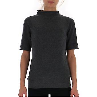 Fabiana Filippi Mad129w665n1288105 Femmes-apos;s Grey Wool T-shirt