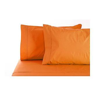 Jenny Mclean La Via Sheet Set 100% Cotton King 400Tc Orange
