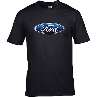 Ford Colour - Car Motor - DTG Printed T-Shirt