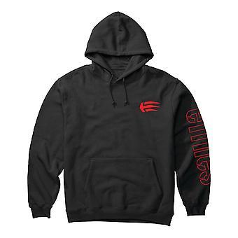 Etnies Joslin Pullover Hoody in Black/Red