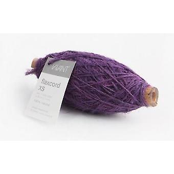 Vivant Jute Flax cord XS purple - 50 MT 1MM