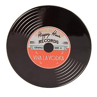 CGB Giftware Viva La Vodka Record Coaster