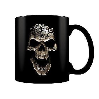 Heat-changing Mug - Skull Blast