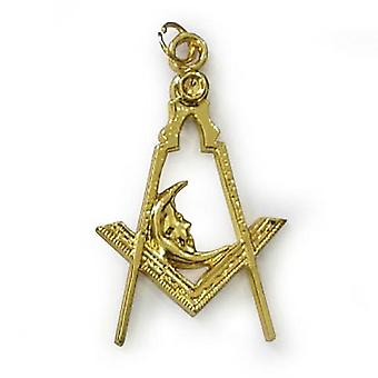 Bijou de collier d'or maçonnique - diacre junior