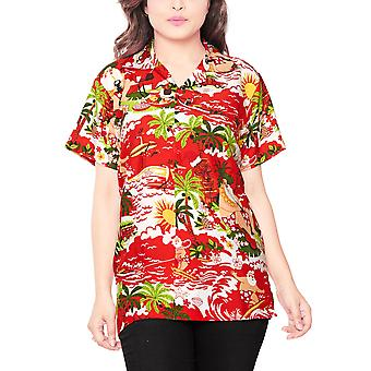Club cubana women's regular fit classic short sleeve casual blouse shirt ccwx4