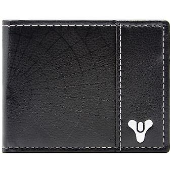 Destiny Bi-Fold Game Logo Coin and Card Wallet Black
