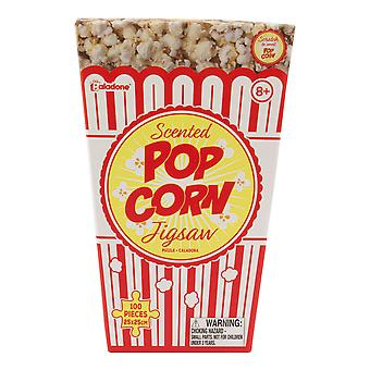 Popcorn Jigsaw Puzzle & Collectable Real Life Pop Corn Scented Retro 100 Pieces