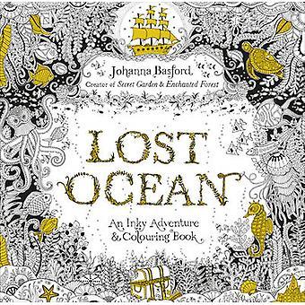 Verloren Ocean - een Inky avontuur & boek van Johanna Basford - 9 kleuren