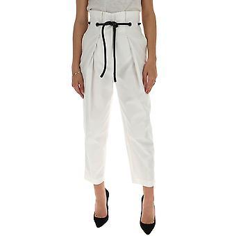 3.1 Phillip Lim E2015103cnsan110 Women's White Cotton Pants