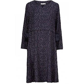 Masai Kleidung Noatta violett Spot Print Kleid