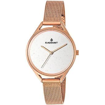 Radiant new starlight Quartz Analog Woman Watch with RA432204 Gold Plated Stainless Steel Bracelet