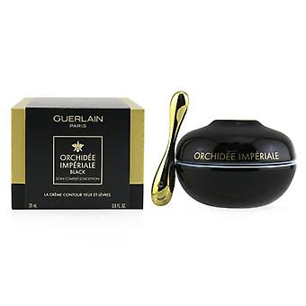 Guerlain Orchidee Imperiale Black The Eye & Creme de Contorno Labial - 20ml /0.6oz