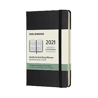 2021 12M Wkly Vertical Pocket Black HD