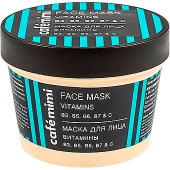 Cafe Mimi Vitamin Face Mask b3 b5 b6 b7 and c 110 ml