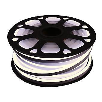 Jandei Fleksibel NEON LED Strip 25m, Varm hvid lys farve 4200K 12VDC 8 * 16mm, 2,5 cm Cut, 120 LED / M SMD2835, Dekoration, Figurer, LED Plakat
