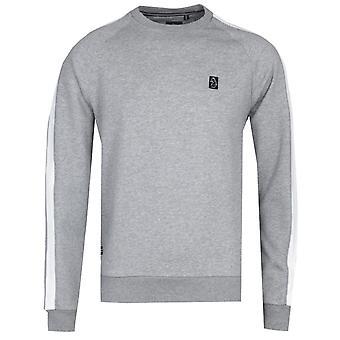 Luke 1977 Martin Prat Pipe Detail Grey Sweatshirt