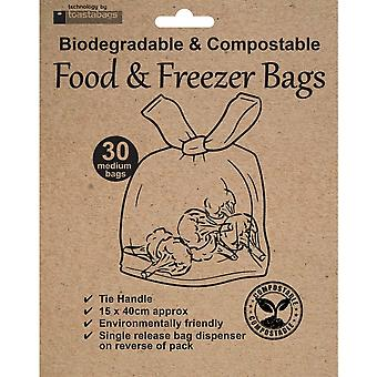 Planit Eco Friendly Freezer Plastic Bags (Pack Of 30)