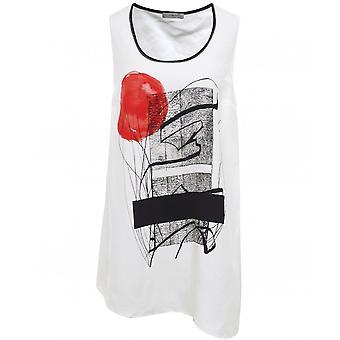 Crea Concept Abstract Print Vest