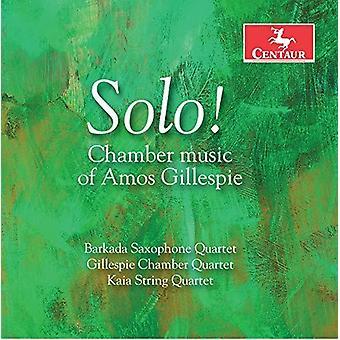 Gillespie / Barkado Saxophone Quartet / Miller - Chamber Music of Amos Gillespie [CD] USA import