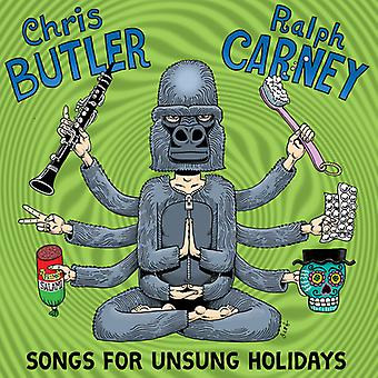 Chris Butler & Ralph Carney - Songs for Unsung Holiodays [CD] USA import