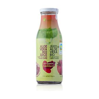Aloe Vera juice with pulp and pomegranate 0,5 L
