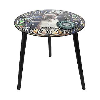 Lisa Parker Hocus Pocus Glass Spirit Board Table
