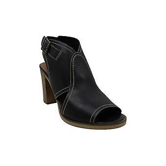 Bella Vita | Viv-Italy Leather Block Heel Sandals | Black