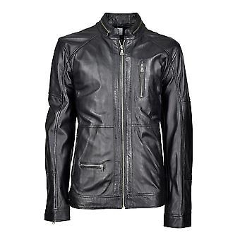 Men's leather jacket Dan