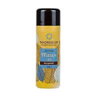 Relaxing Massage Oil 500 ml of oil