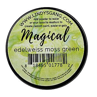 Lindy's Stamp Gang Edelweiss Moss Green Magical