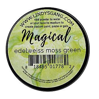 Lindy's Frimærkebande Edelweiss Moss Green Magical