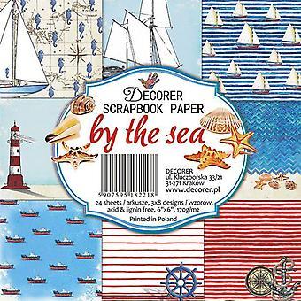 Sisustus meren rannalla 6x6 tuuman paperipakkaus