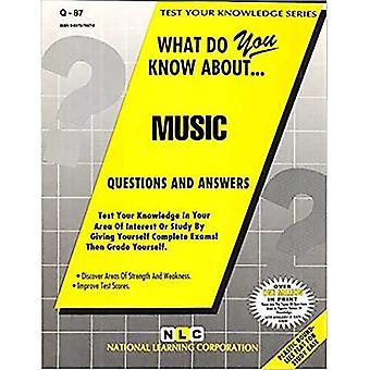 Musik: Passbooks Studieguide