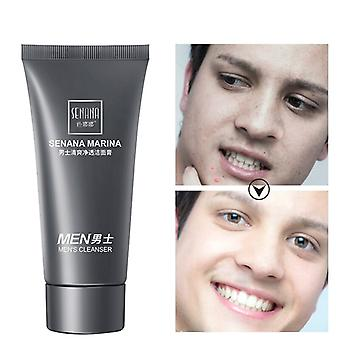 Men's Deep Cleansing Oil Control Brightening Moisturizing Foaming Face Cleanser
