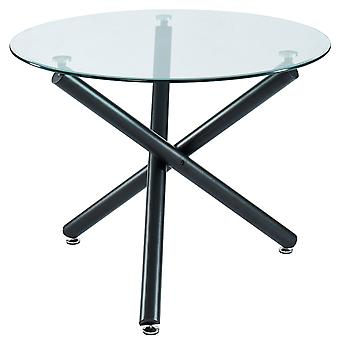 "Madeline Dining Table, 40""Dia - Black"